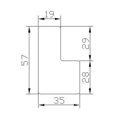 YL57(CLASSIC L FRAME 57mm)