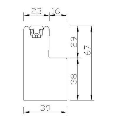 YLF67(VINTAGE L FRAME 67mm)